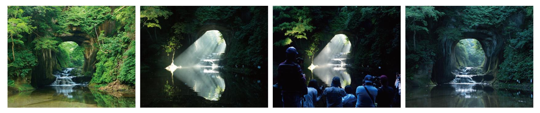 広場 清水 渓流 濃溝の滝